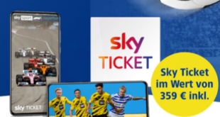 359€ Sparen – Sky Supersport Jahresticket 12 Monate